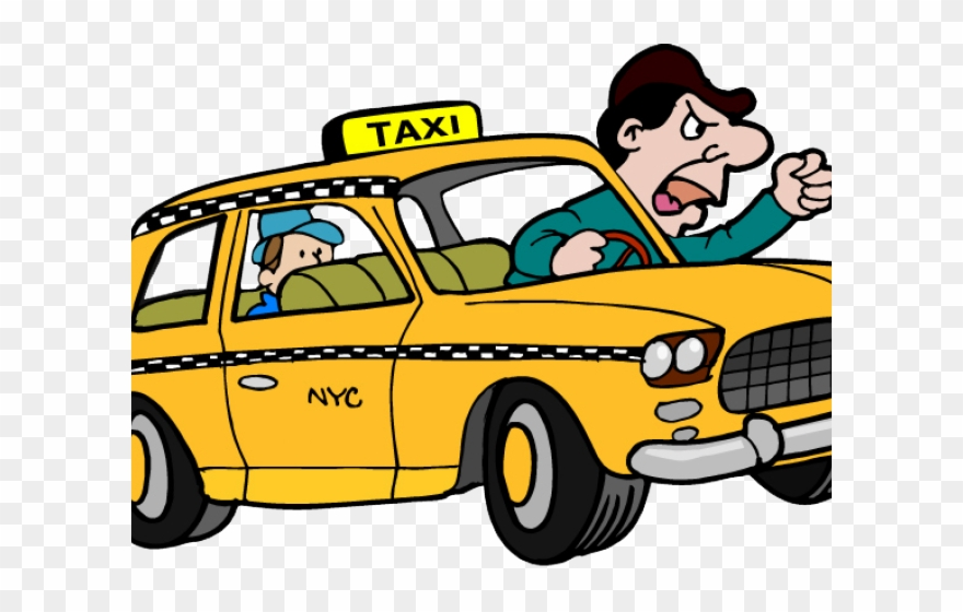 Yellow cab clipart clip art free Taxi Cab Clipart Nyc Taxi - Mom Taxi Meme - Png Download ... clip art free