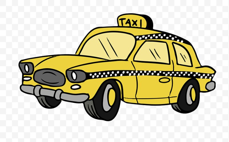 Yellow cab clipart graphic transparent stock Taxicabs Of New York City Yellow Cab Clip Art, PNG ... graphic transparent stock