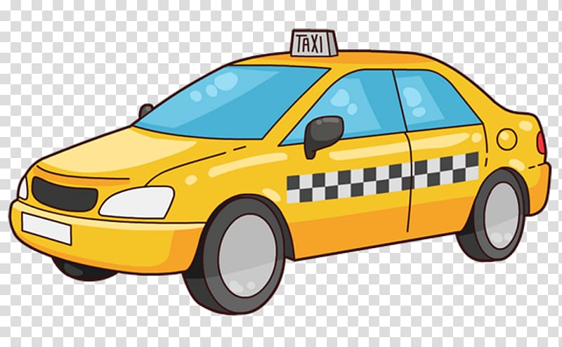 Yellow cab clipart vector transparent library Taxi Yellow cab , taxi transparent background PNG clipart ... vector transparent library