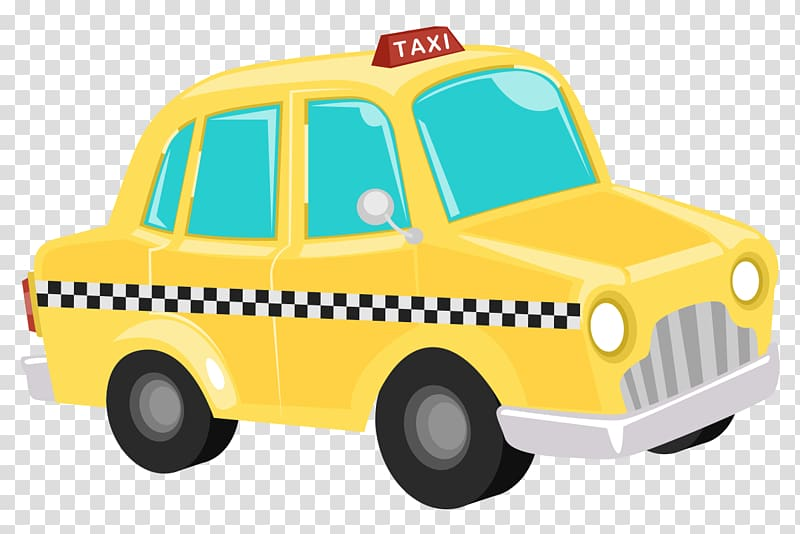 Yellow cab clipart clipart free stock Taxi Yellow cab Hackney carriage , Cab transparent ... clipart free stock