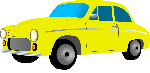 Yellow car clipart free jpg freeuse download Free Retro Yellow Car Clip Art | Clipart Panda - Free ... jpg freeuse download