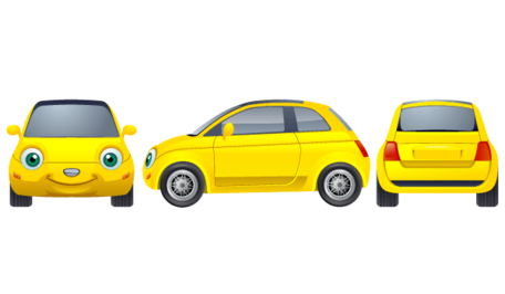 Yellow car clipart free image royalty free stock Free Free Yellow Car Clipart and Vector Graphics - Clipart.me image royalty free stock