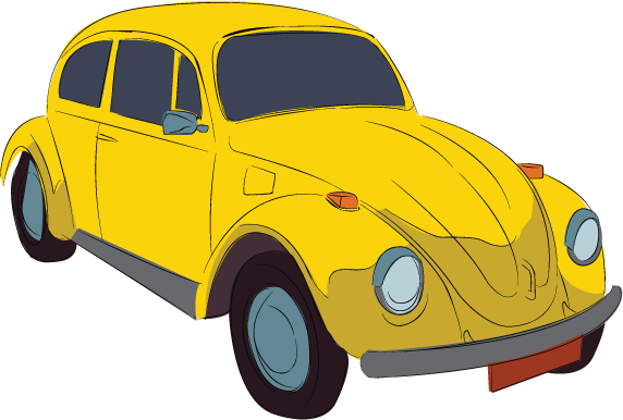 Yellow car clipart free svg royalty free Yellow car clipart 4 » Clipart Station svg royalty free