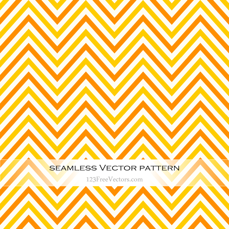 Yellow chevron pattern clipart picture royalty free download Orange and Yellow Chevron Seamless Pattern picture royalty free download