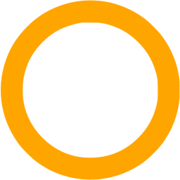 Yellow circle outline clipart image freeuse download Orange circle outline icon - Free orange shape icons image freeuse download