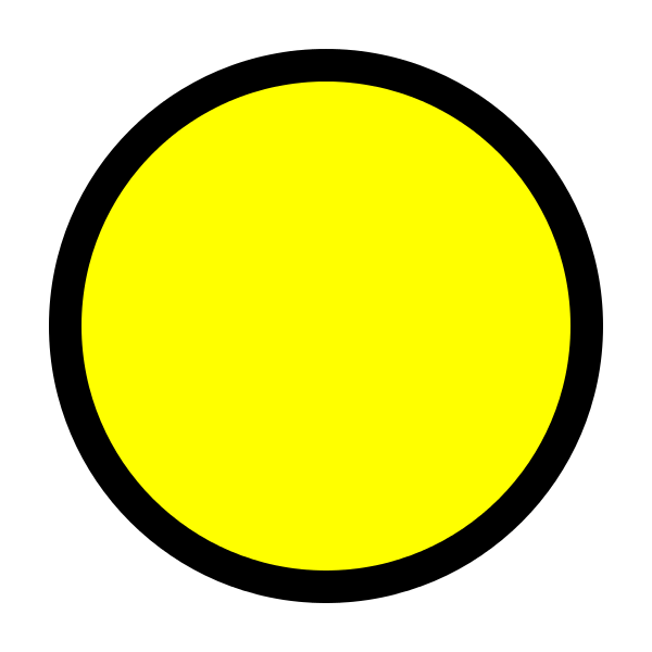 Yellow circle outline clipart png free File:Circle-yellow.svg - Wikimedia Commons png free