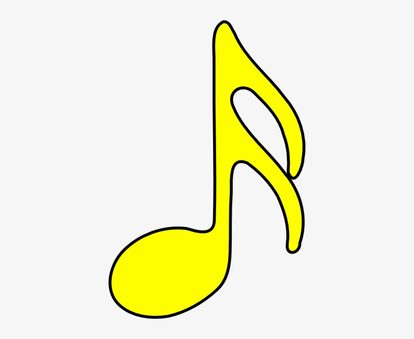 Yellow clipart pictures vector library library Musical Notes Clipart Mucic - Yellow Musical Note ... vector library library