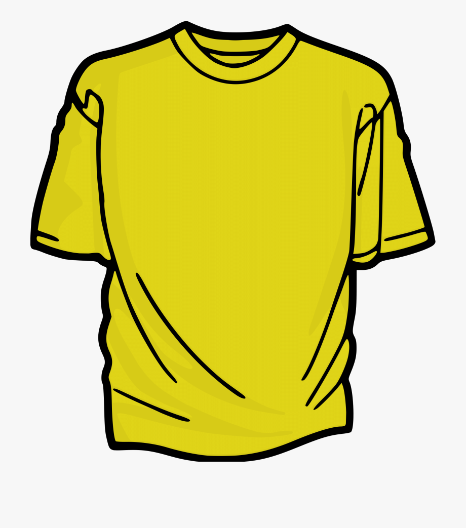 Yellow clipart shirt free library People In Yellow T Shirts Clipart - T Shirt Clipart #1050754 ... free library