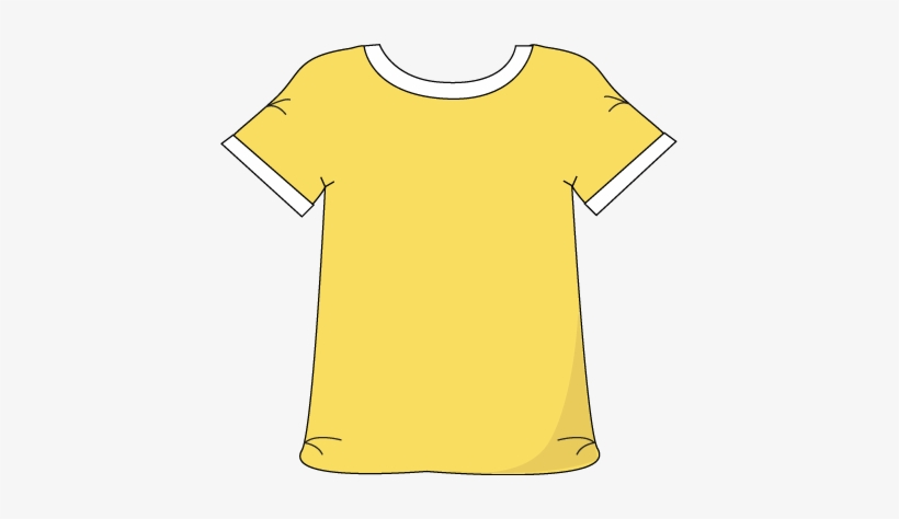 Yellow clipart shirt svg freeuse download Download - Yellow T Shirt Clip Art PNG Image   Transparent ... svg freeuse download