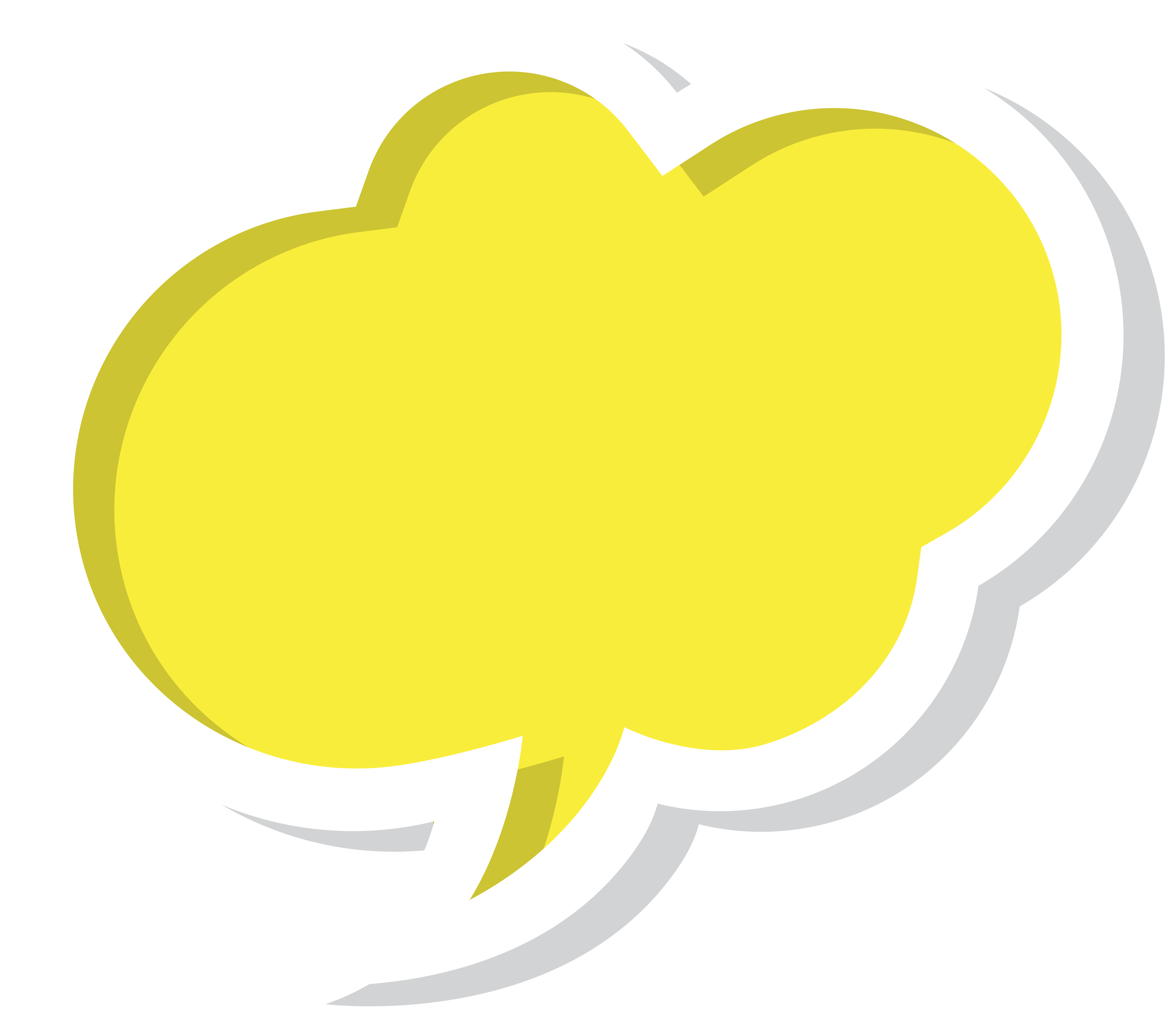 Yellow cloud clipart clipart freeuse download Bubble Speech Cloud Yellow PNG Clip Art Image | Gallery ... clipart freeuse download