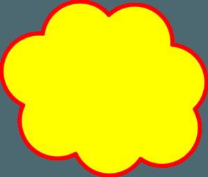 Yellow cloud clipart png freeuse Yellow Cloud Logo - LogoDix png freeuse