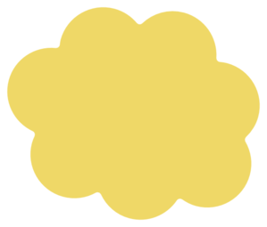 Yellow cloud clipart clip art library Yellow Cloud 3 Clip Art at Clker.com - vector clip art ... clip art library