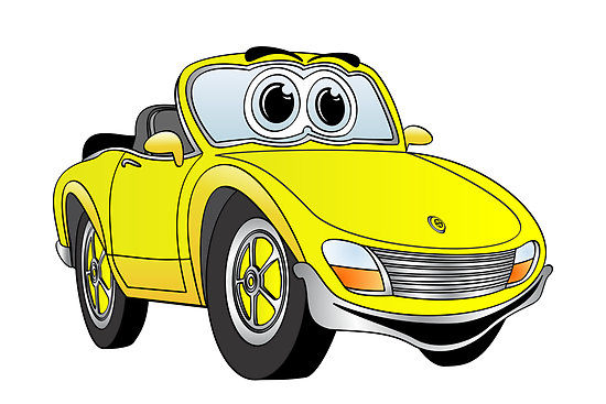 Yellow convertible clipart graphic free Yellow Convertible Sports Car Clip Art Car Pictures - Clip ... graphic free