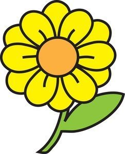 Yellow daisy clipart clipart transparent library Yellow daisy clipart 2 » Clipart Portal clipart transparent library