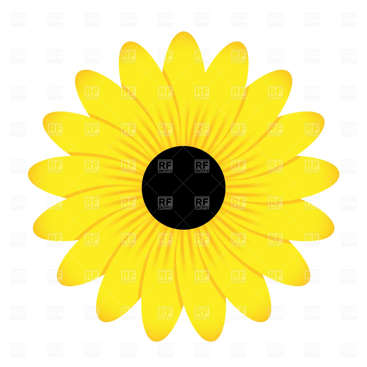 Yellow daisy clipart free banner transparent library Gerbera Daisy Clipart | Free download best Gerbera Daisy ... banner transparent library