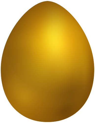 Yellow easter egg clipart clipart royalty free Pin by gshack on t | Easter, Gold easter eggs, Easter eggs clipart royalty free