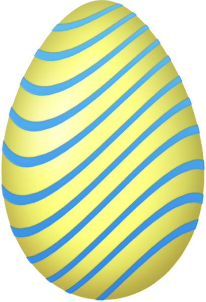 Yellow easter egg clipart png picture royalty free download Yellow_and_Blue_Easter_Egg.png?m=1366236000 picture royalty free download