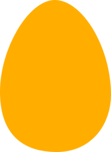 Yellow easter egg clipart png picture freeuse download Yellow Egg Clip Art at Clker.com - vector clip art online, royalty ... picture freeuse download