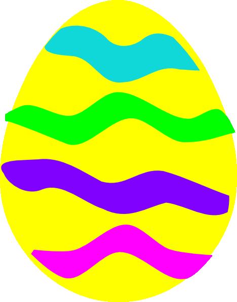 Yellow easter egg clipart png jpg Easter Egg Clip Art at Clker.com - vector clip art online, royalty ... jpg