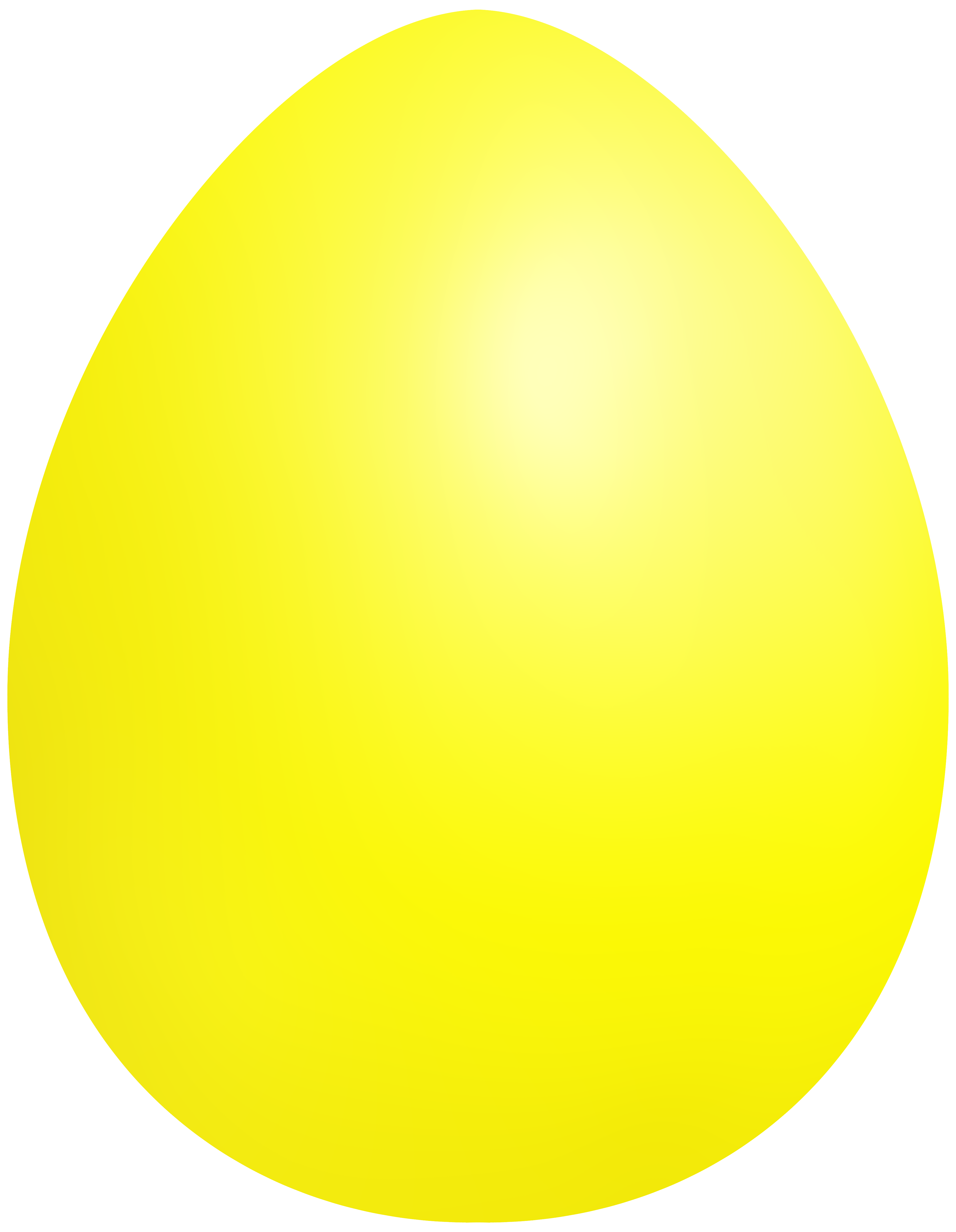 Yellow easter egg clipart png banner freeuse download Yellow Easter Egg PNG Clip Art - Best WEB Clipart banner freeuse download