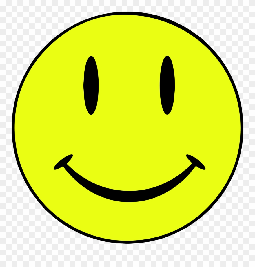 Yellow face clipart clipart royalty free stock Happy Face Clipart - Keeping The Rave Alive - Png Download ... clipart royalty free stock