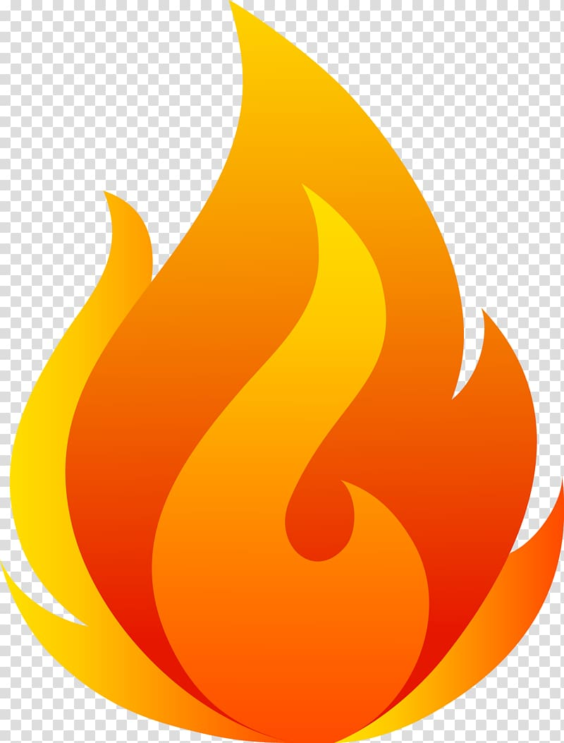 Yellow fire clipart clip freeuse stock Orange and yellow fire illustration, Cool flame Fire ... clip freeuse stock