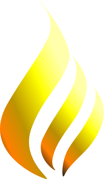 Yellow fire clipart banner free library Yellow Flame Clip Art at Clker.com - vector clip art online ... banner free library
