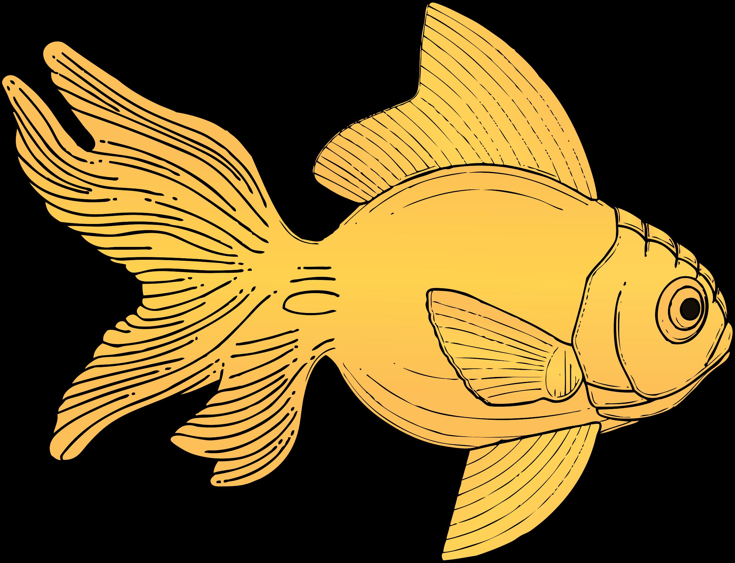 Yellow fish clipart free stock Clipart - fish free stock