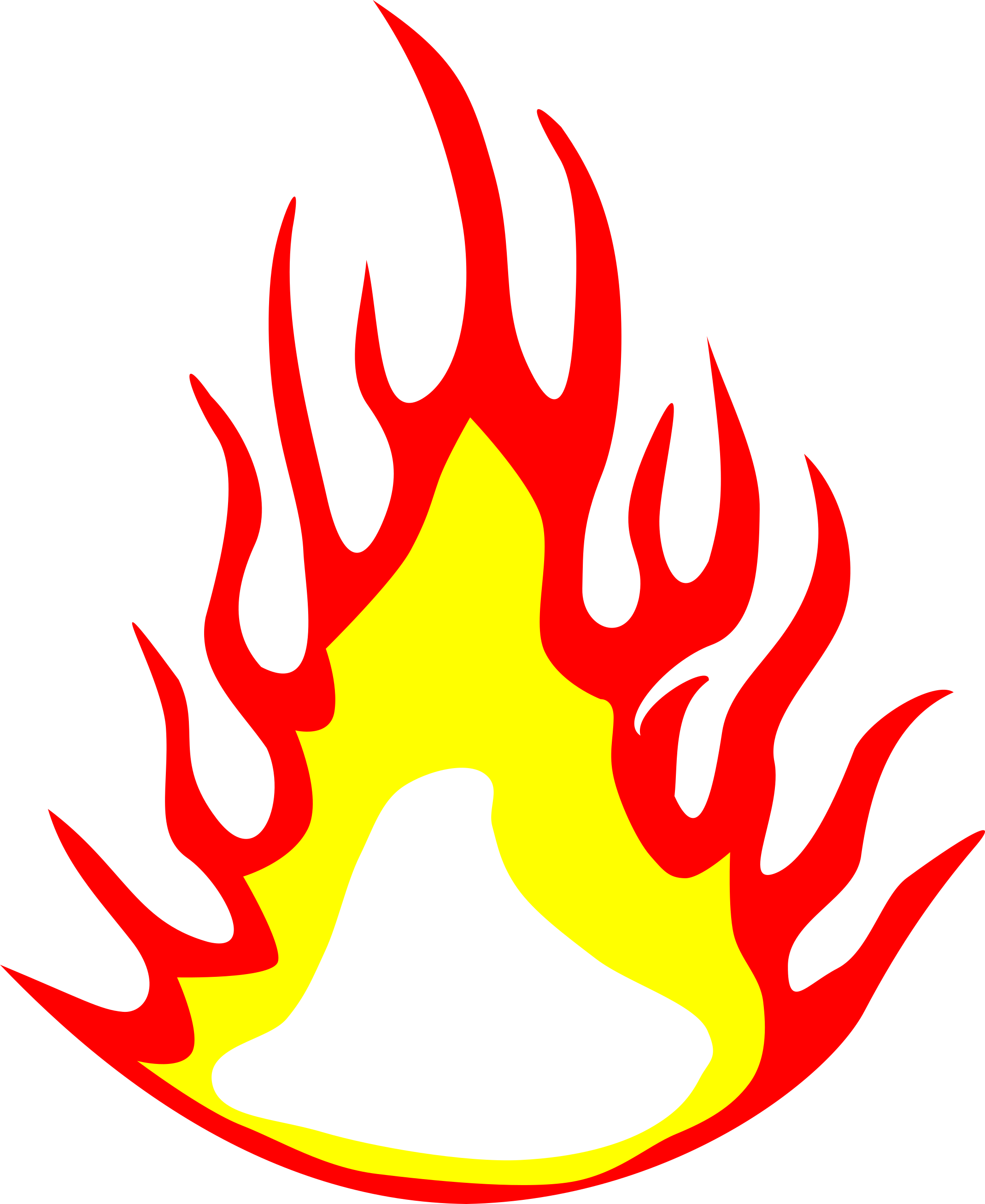 Yellow flames clipart png png transparent stock 5 Fire Flame Clipart (PNG Transparent) | OnlyGFX.com png transparent stock
