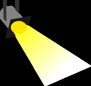 Yellow flashlight clipart vector transparent Flashlight disco light yellow no outline clip art at clker ... vector transparent