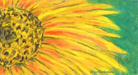 Yellow flower artwork clip royalty free download A Burst of Yellow by Cori Solomon, original painting by artist Art ... clip royalty free download