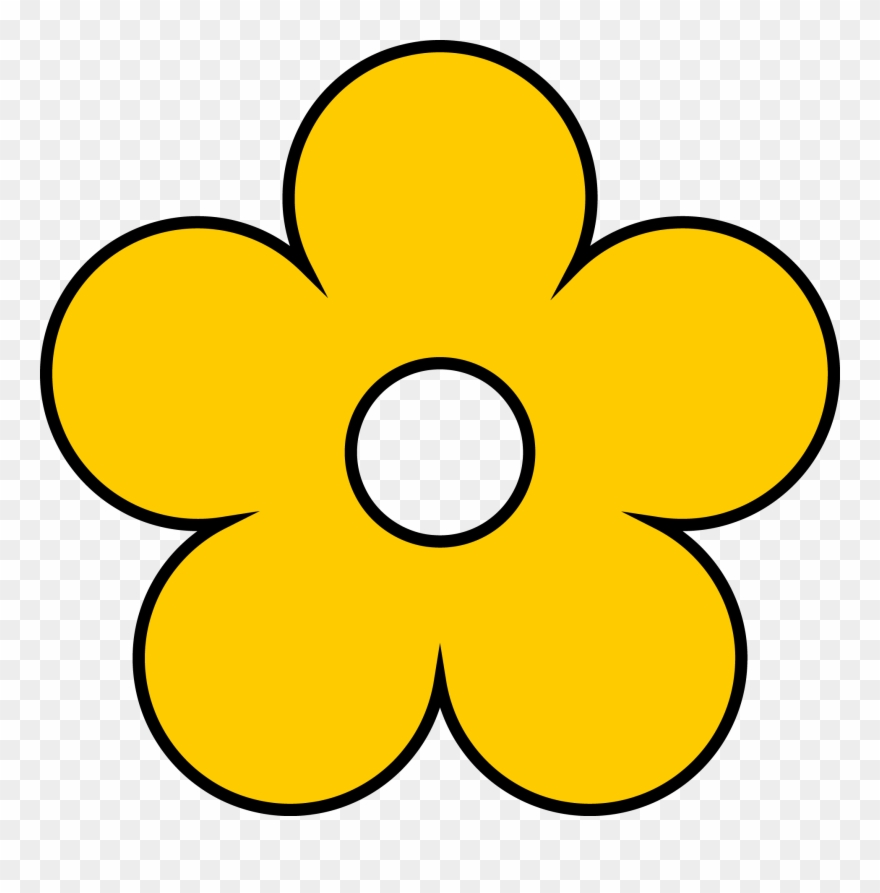 Yellow flower clipart images png black and white library Yellow Flower Clipart - Clip Art Yellow Flower - Png ... png black and white library