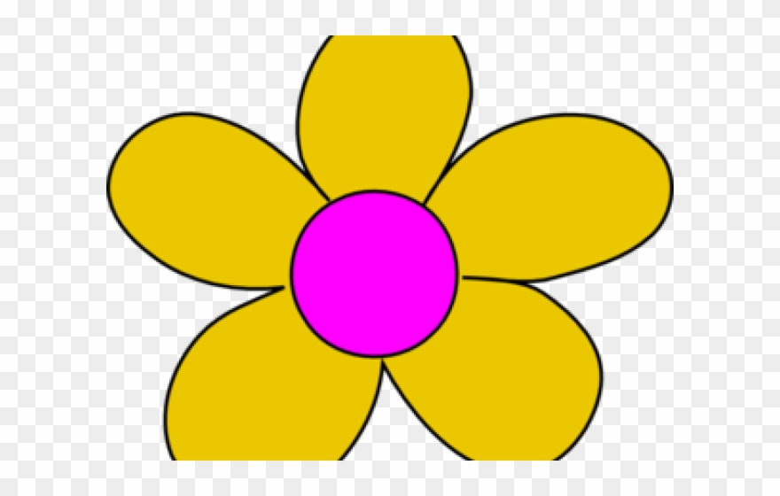 Yellow flower clipart images clip freeuse library Yellow Flower Clipart - Yellow - Png Download (#1002874 ... clip freeuse library