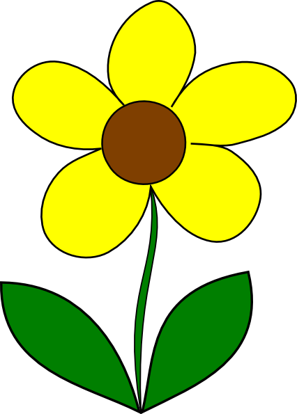 Yellow flower clipart png vector transparent stock Yellow flower clipart png - ClipartFest vector transparent stock