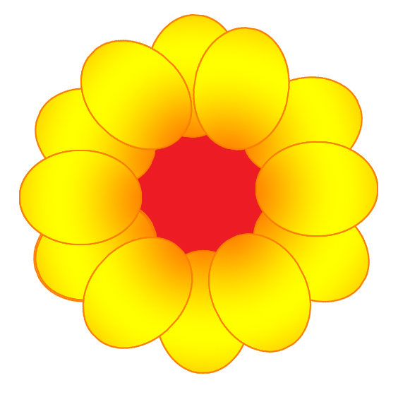Yellow flower clipart png clip black and white library Flower Image Gallery - Useful Floral Clip Art clip black and white library