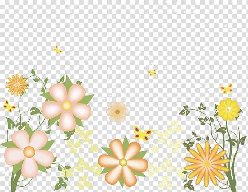 Yellow flower no background clipart image transparent stock Peach, green, and yellow flowers illustration, , Yellow ... image transparent stock