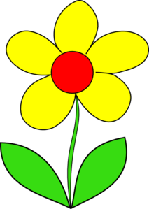 Yellow flower clipart images clip art transparent stock Yellow Flower Clip Art | Arts and crafts | Flower clipart ... clip art transparent stock