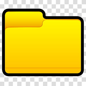 Yellow folder clipart graphic freeuse download Sleek XP Basic Icons, Folder, yellow folder icon transparent ... graphic freeuse download