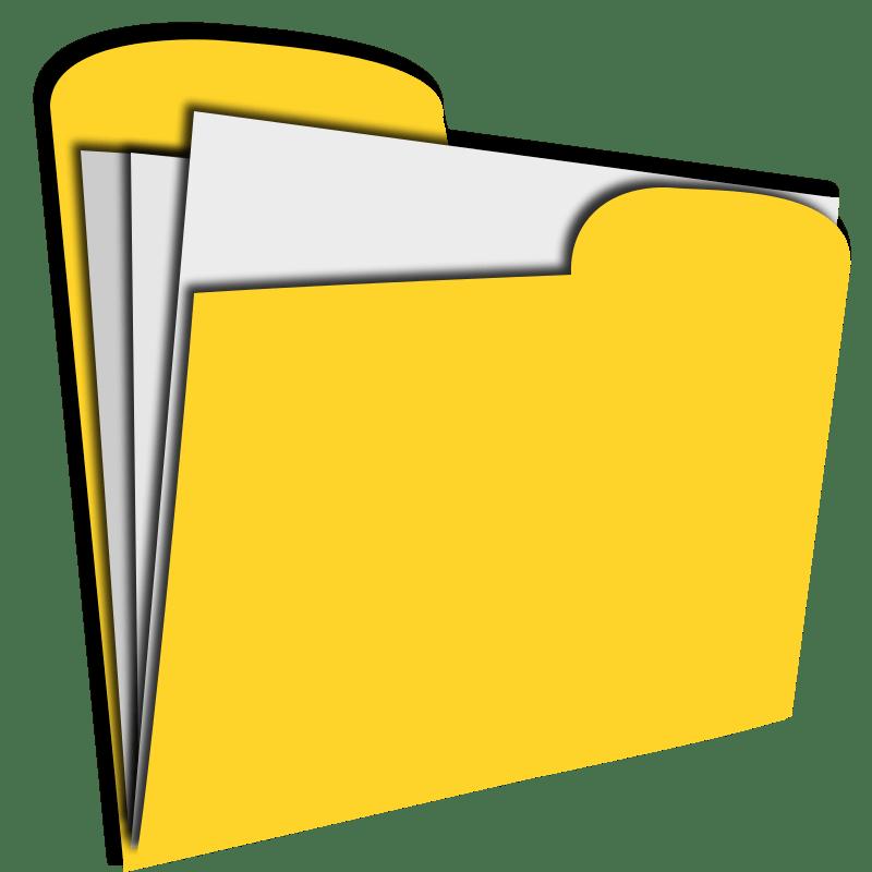 Yellow folder clipart clip art Yellow folder clipart 3 » Clipart Portal clip art
