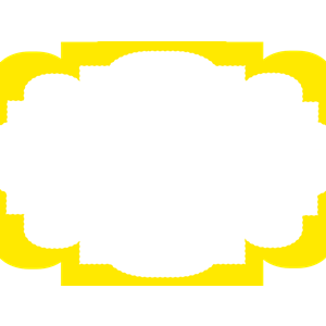 Yellow frame tag clipart png graphic freeuse download Yellow Frame clipart, cliparts of Yellow Frame free download ... graphic freeuse download