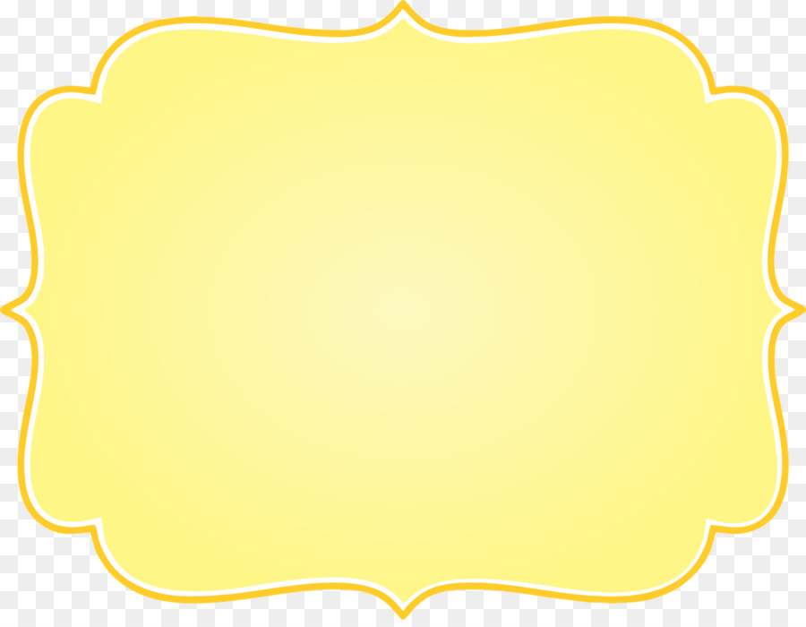Yellow frame tag clipart png banner royalty free download Tag Template clipart - Tag, Yellow, Line, transparent clip art banner royalty free download