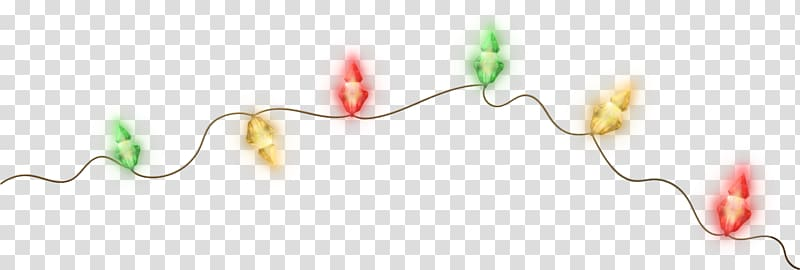 Yellow garland clipart royalty free download Garland Yellow Christmas lights , garland transparent ... royalty free download