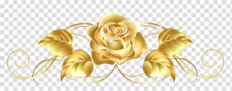 Yellow gold clipart jpg library stock Gold rose , Gold Flower Yellow , Gold transparent background ... jpg library stock