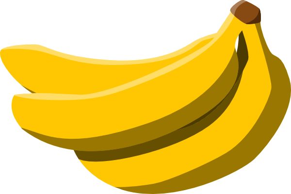 Yellow items clipart vector free download 26+ Bananas Clipart | ClipartLook vector free download