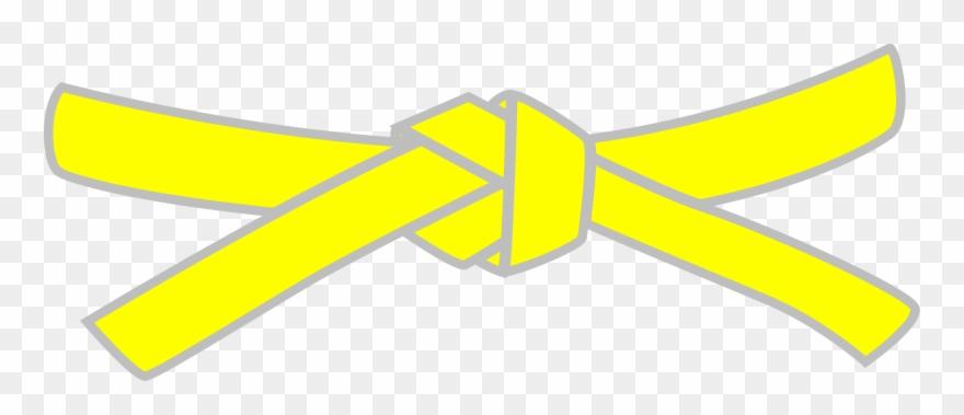 Yellow karate belt clipart image stock Belt Clipart Yellow Belt - Png Download (#2750998) - PinClipart image stock
