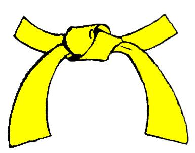 Yellow karate belt clipart svg transparent stock Yellow Belt | Shaolin Kempo Queensland svg transparent stock