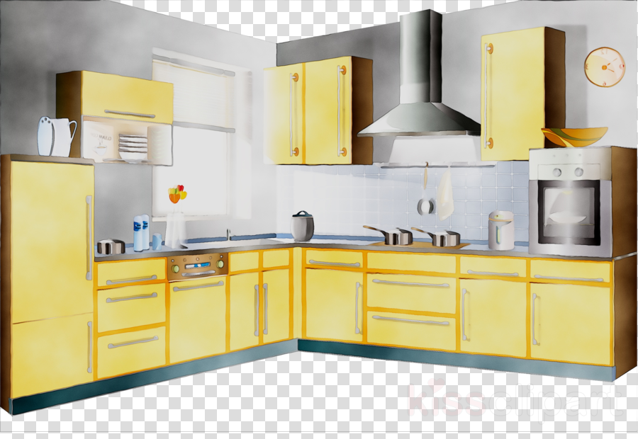 Yellow kitchen clipart image library stock Building Cartoon clipart - Furniture, Yellow, Product ... image library stock