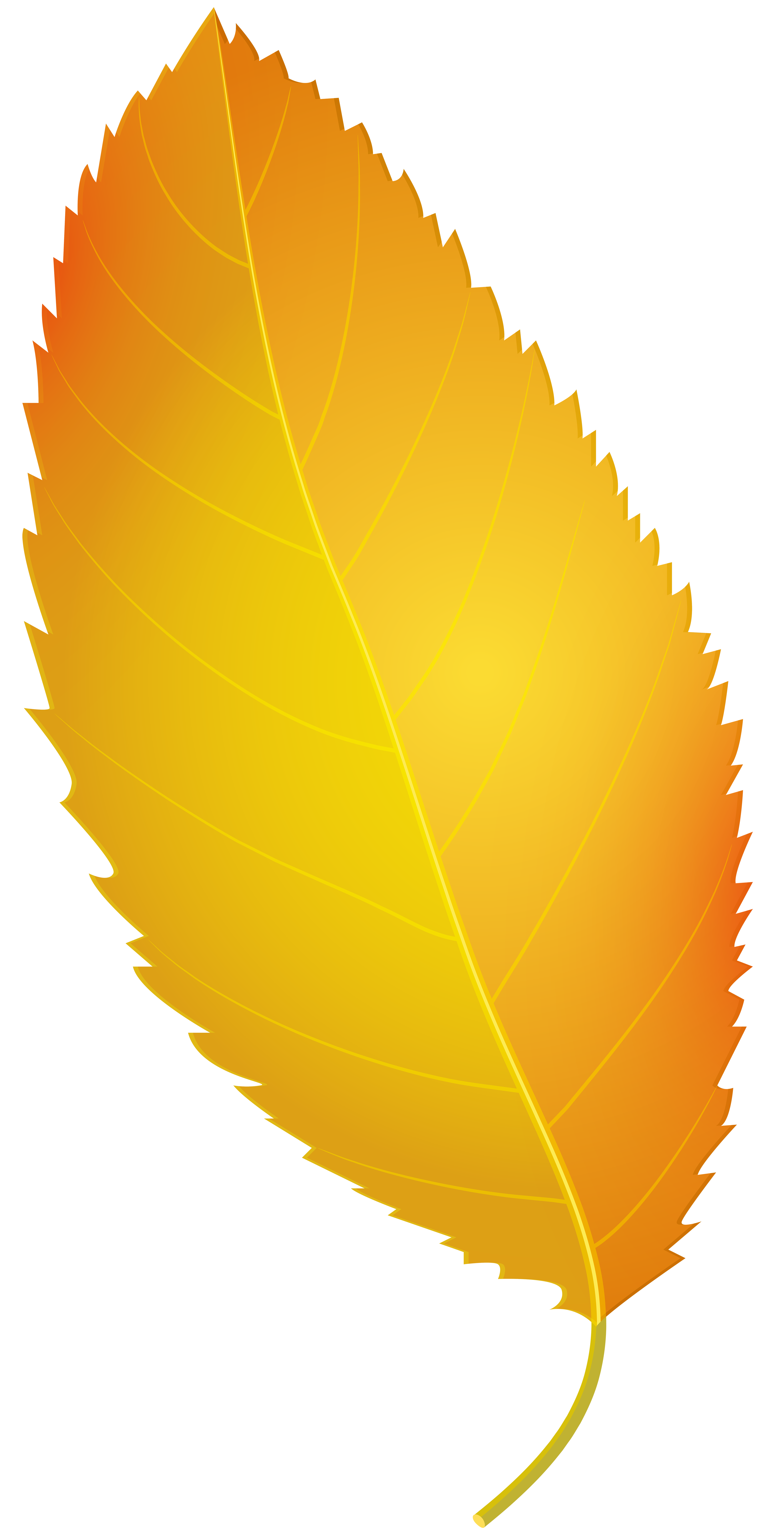 Yellow leaves clipart clip art royalty free download Yellow Autumn Leaf PNG Clip Art - Best WEB Clipart clip art royalty free download