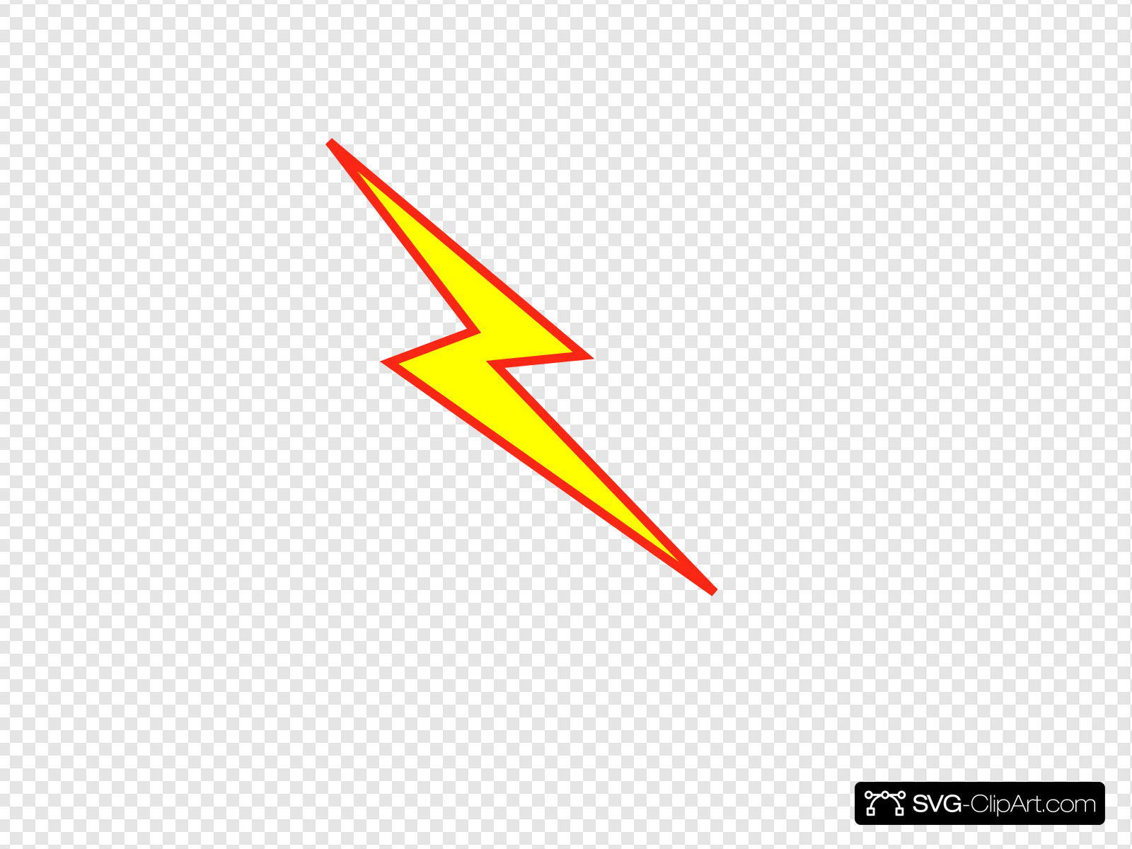 Yellow lightning clipart vector stock Red And Yellow Lightning Bolt Clip art, Icon and SVG - SVG ... vector stock