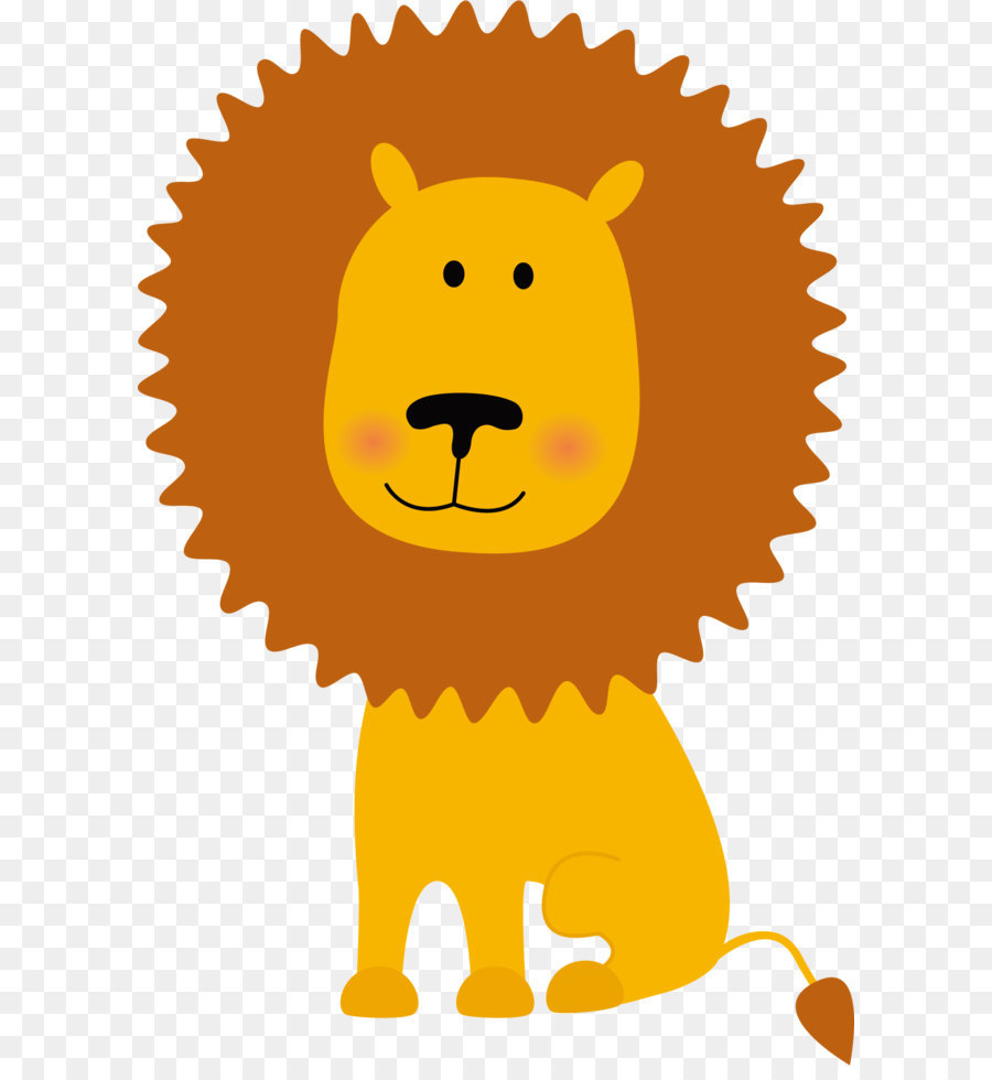 Lion clipart transparent vector free stock Lion clip art yellow lion vector download 14 free jpg ... vector free stock